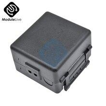 Черный чехол для 12 В постоянного тока 1 канал 1-CH 433 МГц беспроводной релейный модуль RF пульт дистанционного управления