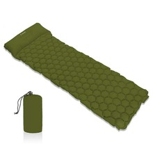 Hitorhike Inflatable Sleeping Pad Camping Mat With Pillow air mattress Cushion Bag sofas inflatable sofaFor Autumn
