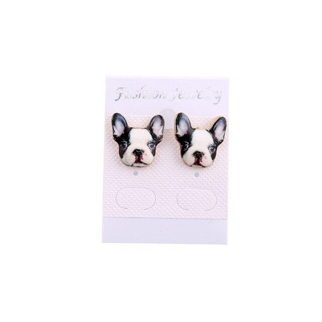 brixini.com - French Bulldog Earrings