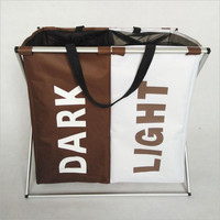 New simple dirty clothes basket folding laundry basket multifunctional bag B