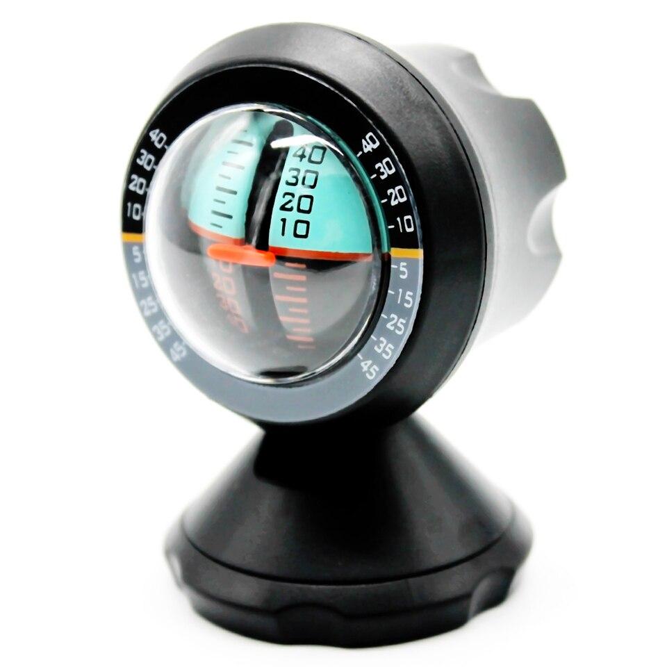 NEW Car Inclinometer Slope Level Meter Tilt Gauge Gradient Balancer Indicator 1x