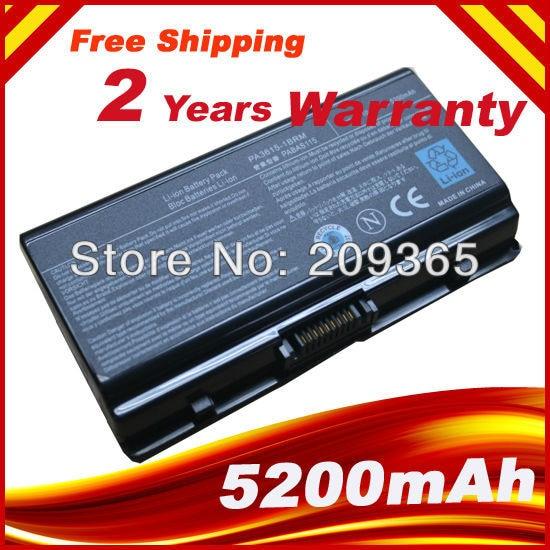 Laptop Battery PA3615U 1BRM PA3615U 1BRS PABAS115 for Toshiba L40 Satellite L45 S7423|laptop battery|battery for laptop|satellite battery - title=