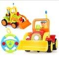 Envío Gratis Bebé Coche de Control Remoto RC Coche de Bebé Primero juguete de aprendizaje de educación mejor toys coche con música y luz para niños