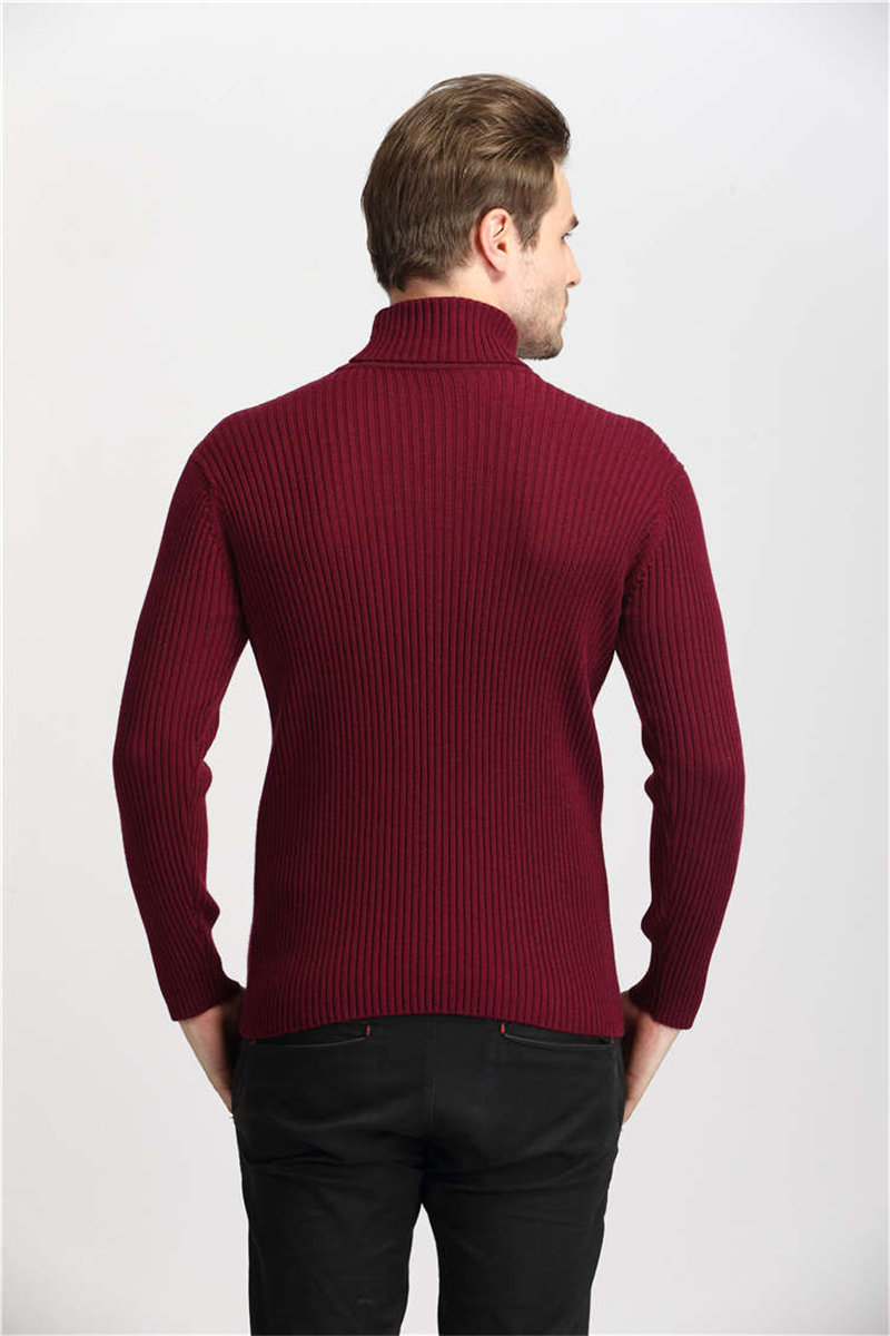 COODRONY Winter Thick Warm Cashmere Sweater Men Turtleneck Mens Sweaters Slim Fit Pullover Men Classic Wool Knitwear Pull Homme 9