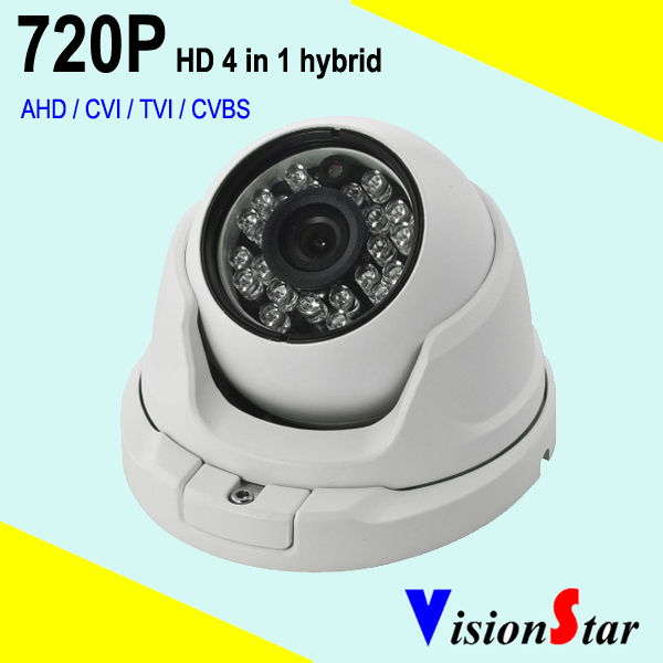Home surveillance security dome camera HD 720P 1000tvl OSD menu video mode AHD / TVI / CVI / CVBS 2mp 1080p surveillance ptz ir speed dome camera 10x optical zoom cvi ahd tvi cvbs osd menu transfer hd coaxial control rs485