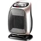 Calentador eléctrico de 220 V para el hogar, calentador portátil de interior, calentador de agua de oficina, calentador de aire para el invierno - 3