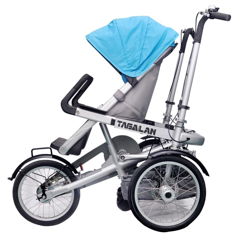 """3 Wheels Taga Lan Bike Stroller 16"""" Pushchair Mother Baby ..."""