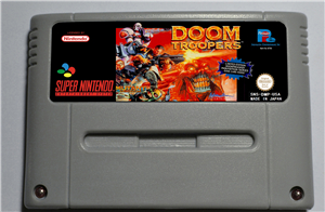 Doom Troopers Mutant Chronicles - Action Game Card EUR Version