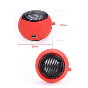 Image 3 - Hamburger Mini Speaker Mp3 Muziek Luidspreker Speler Outdoor 3.5 Mm Bedrade Speaker Klankkast Voor Computer Telefoons