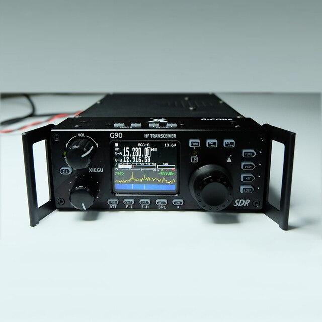 Xiegu G90 Radio de onda corta al aire libre en la versión 0,5-30 MHz 20 W transceptor HF si salida SDR portátil transceptor HF SSB/CW/AM