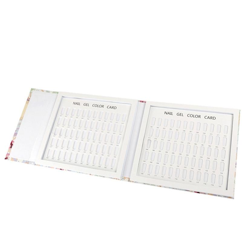 Professionele manicure kleur kaart boek 120 kleur nagellak kleur - Nagel kunst - Foto 6
