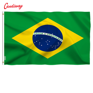 90 x 150cm Brazil Brazilian Flag national flags Home Decoration Brasil FLAG Country Banner Indoor Outdoor NN010(China)
