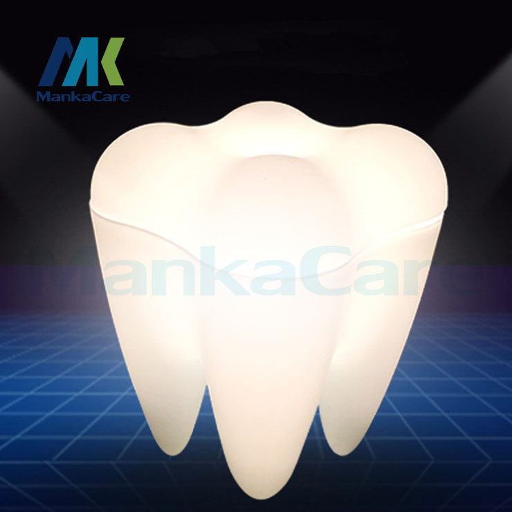 Dental Dentist lamp creative lamp decoration of superior grade material Dental Clinic gift birthday gift dentist gift resin crafts toys dental artware teeth handicraft dental clinic decoration furnishing articles creative sculpture