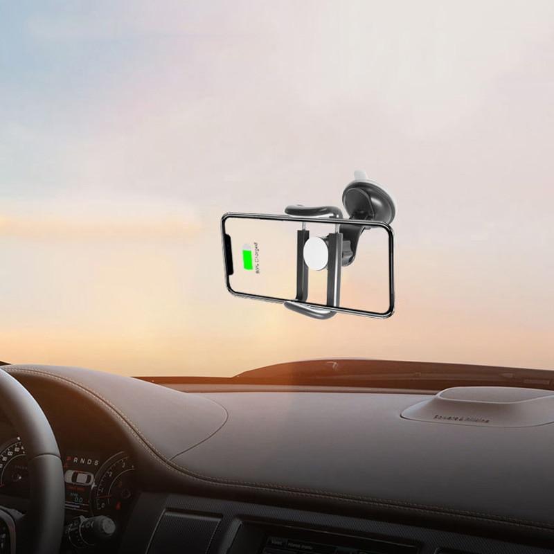 Universal Car Holder Car Dashboard Cell Phone GPS Clip Mount Bracket Magnet Phone Holder Stand Car