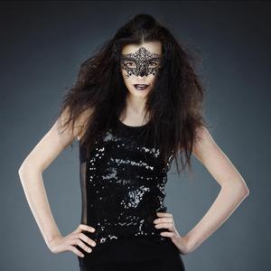 Image 5 - 1 шт. Черная Женская Сексуальная кружевная маска для глаз маски для вечеринки для маскарада Хэллоуина венецианские костюмы Карнавальная маска для анонимного Марди