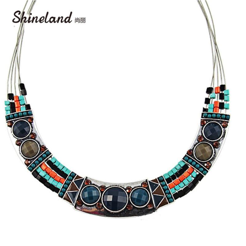 1f87e7604610 2018 vestidos de fiesta para mujeres de alta calle estilo étnico bohemio  esmaltado cuentas gruesas cadenas