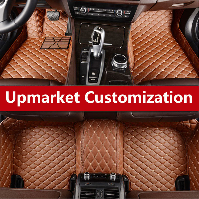 Car Waterproof Custom Leather Floor Mat Interior Car Carpet Mat For Alfa Romeo Stelvio Giulia