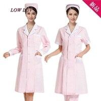 Manica lunga brevi signore del manicotto/uomo bianco lavanderia bianco labs giacca giubbotti vestiti infermiera uniformi mediche mediche ospedaliere