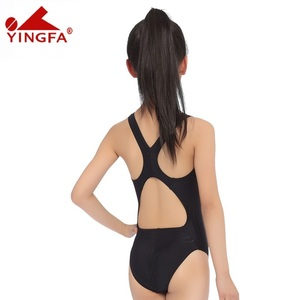 Image 3 - Yingfa Racing Children One Piece Swimsuits Kids Girls Swimwear Sports Baby Bathing Suits Bathers For Training Competition