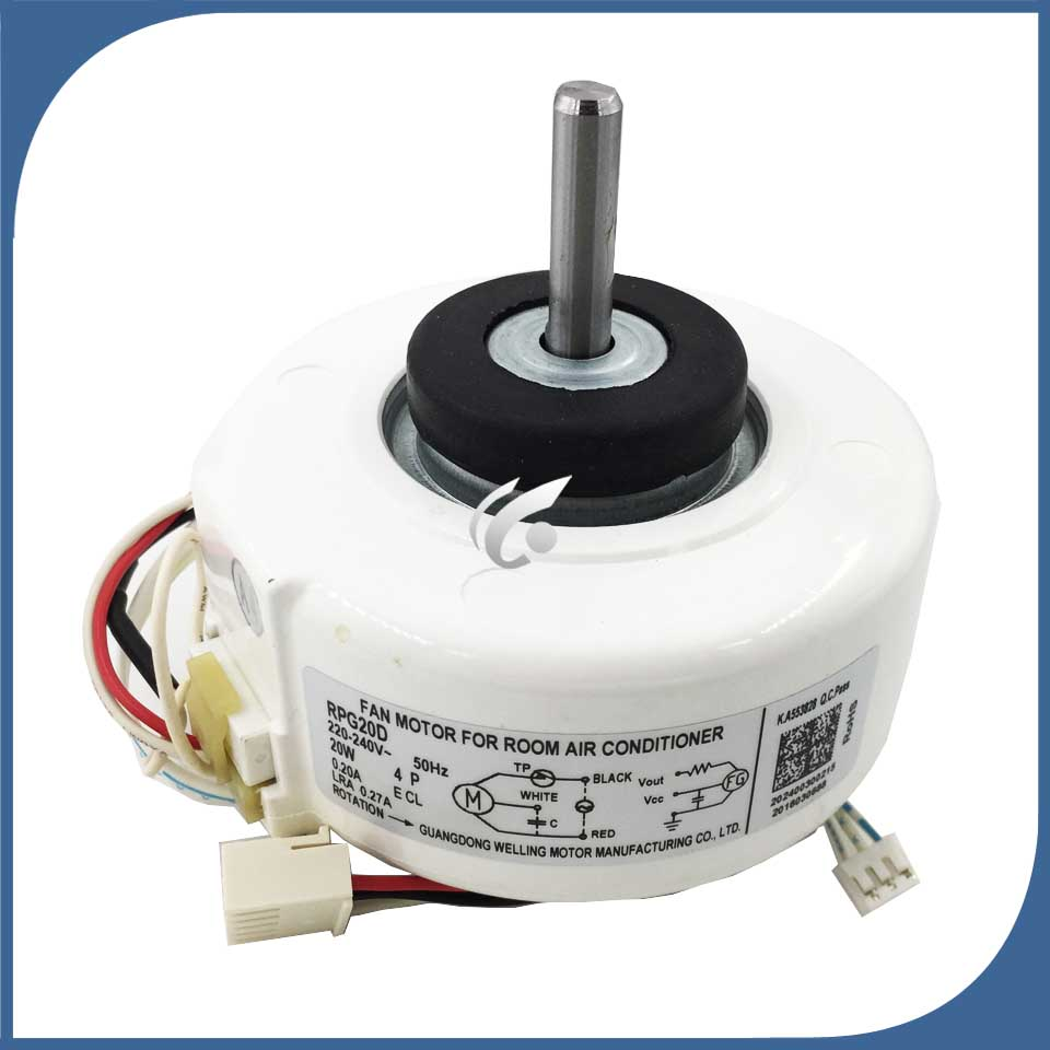 new good working for Air conditioner Fan motor machine motor RPG20E (RPG20D-2) good working new good working for air conditioner inner machine motor rpg13c rpg18f rpg18h 2 motor fan