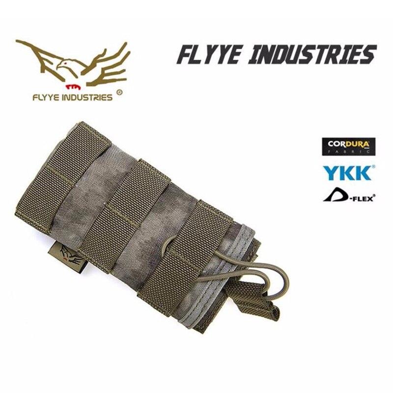 FLYYE MOLLE EV Universal Single Mag Pouch  Military Camping Modular Combat CORDURA M023