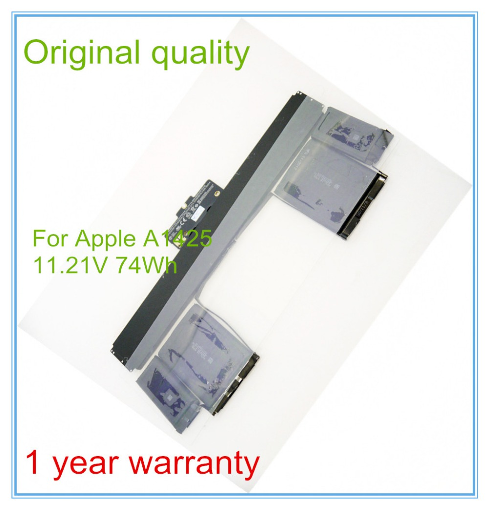 Original New Qaulity A1437 Rechargeable Battery For Pro Retina 13'' A1425 Battery 2012 11.21V 74Wh все цены