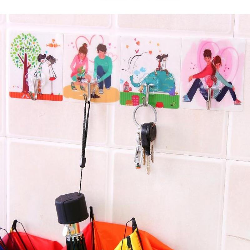 2 шт. самоклеющиеся липкие крючки для кухни и ванной комнаты, настенная вешалка для полотенец, халатов, одежды, пальто, шляпы, халата, брелки, крючки, фурнитура
