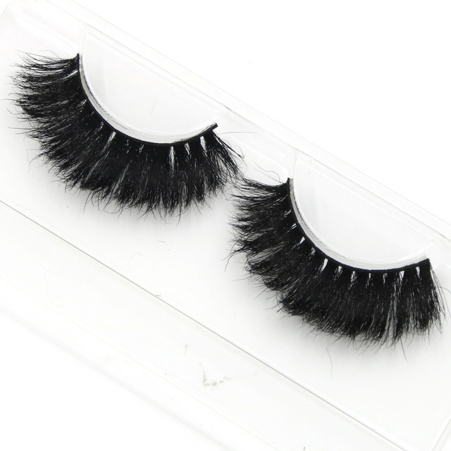 YOKPN 100% Mink False Eyelashes Models Naturally Messy Bushy False Eyelashes Fashion True hair Cross False Eyelashes Makeup tool 2