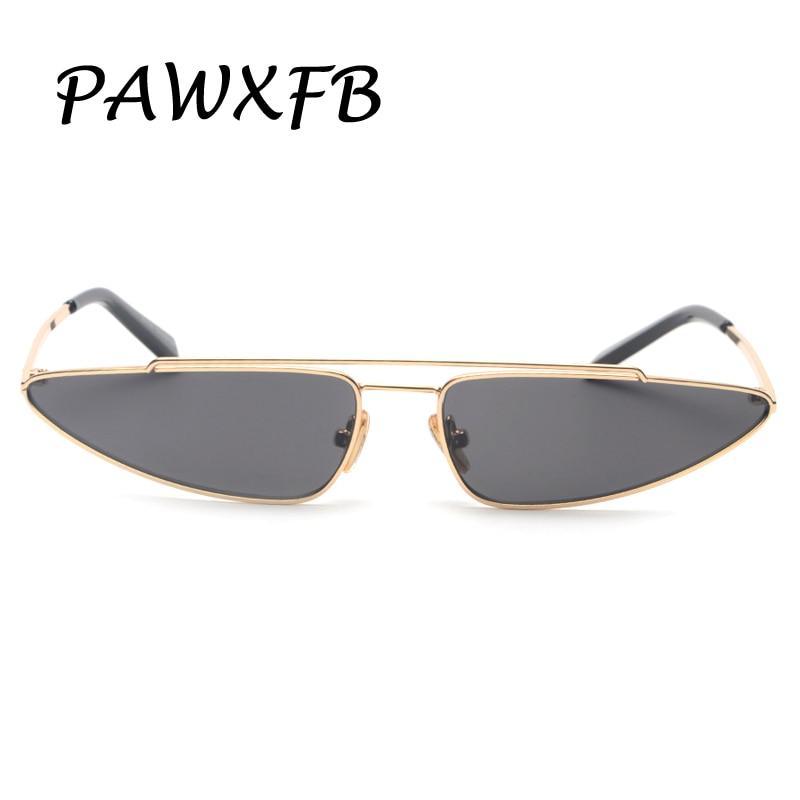 Pop Age 2018 New Metal Cat Eye Sunglasses Women Men Brand Designer Internet star Ladies Small Frames Sunglasses Eyewear Oculos