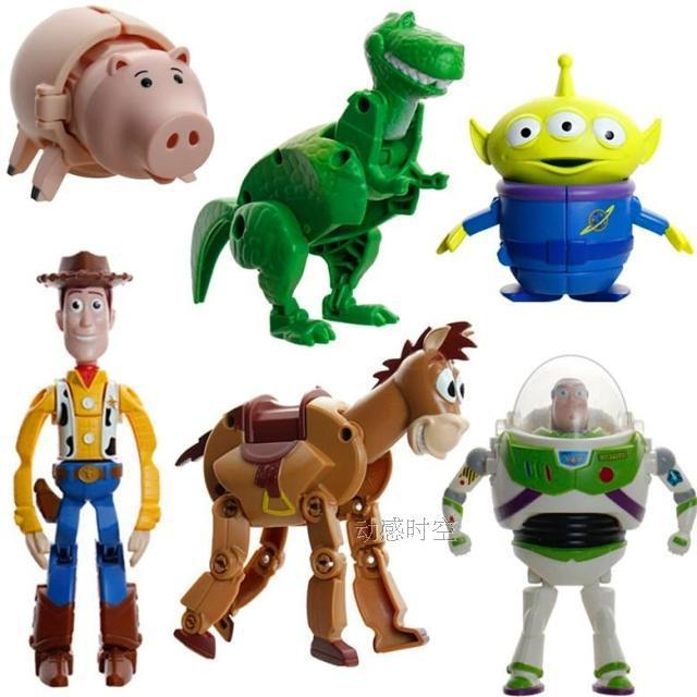 9e4dbd2005108 NEW twisted egg 6pcs set 8-13cm Toy Story 3 Woody Classic toys PVC Action  Figure Model toys Christmas gift toy