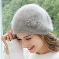 Autumn Women Beanie Hats Female 2018 New Winter Knitted Slouchy Caps Wool Warm Beanies For Girl Candy Color Young Stylish Hat