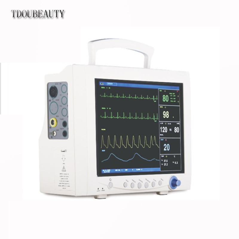 TDOUBEAUTY CMS7000 Multi-Parameter Patient Monitor w/ ETCO2 and IBP Free Shipping