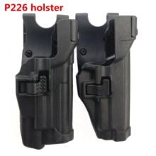 лучшая цена Tactical Holster Level 3 Retention Pistol Waist Holster Right Hand Waist Belt holster Hunting accessories for P226 Gun Holster