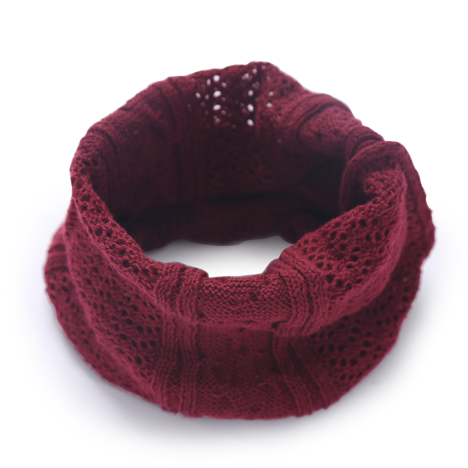 2018 Fashion Fall Winter Women Scarf Children Warmer Thicker Acrylic Boys Girls Ring Scarf Soft And Comfortable