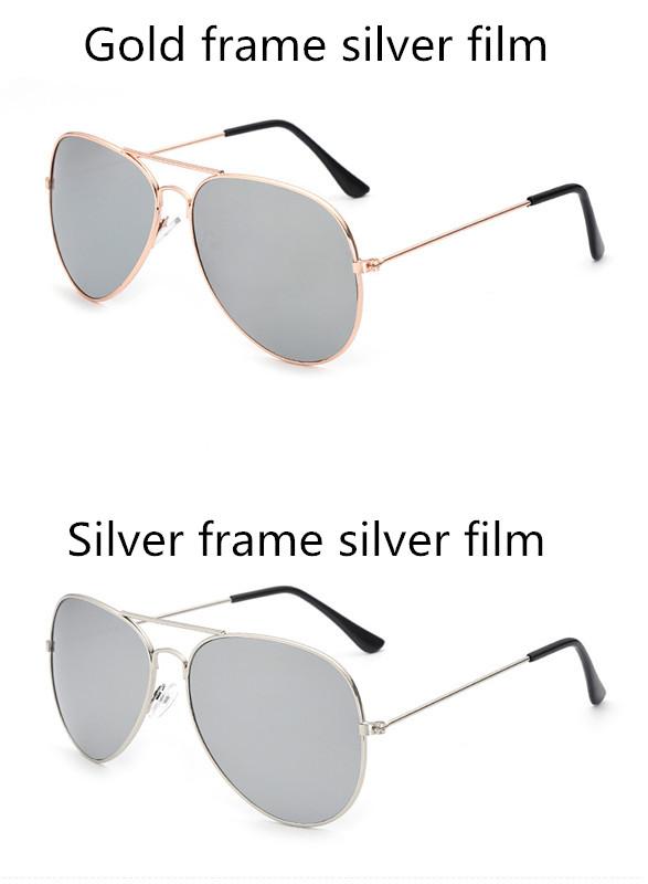 ASUOP2017 new men and women sunglasses pilots glasses high-end brand popular sun glasses goggles UV400 sunglasses sunglasses (9)