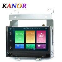 KANOR Android 8.0 Octa Core 4G + 32G 7 inch 2 Din Auto GPS Navigator Voor Land Rover Freelander 2 Met Radio Audio Bluetooth WIFI kaart
