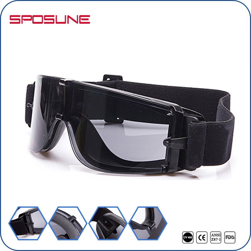 Outdoor Sports Military Airsoft X800 Tactical Goggles Ballistic Eyewear Shooting Combat Paintball Glasses with Adjustable Strap free soldier outdoor sports tactical polarized glass men s shooting glasses airsoft glasses myopia for camping