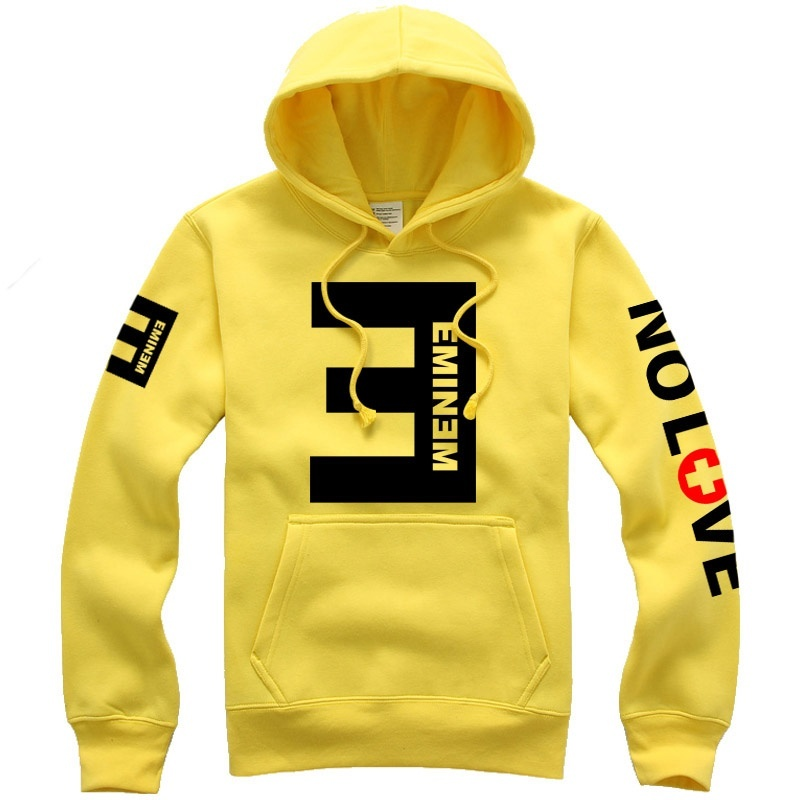 Tracksuit Hooded-Hoodie Sportwear Wind-Coat Letter Eminem Long-Sleeve Print Hip-Hop Autumn