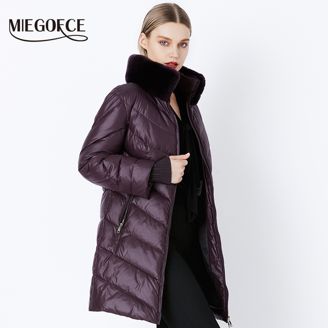 Winter Women's Parka Collection Windproof Women's Thick Coat 1