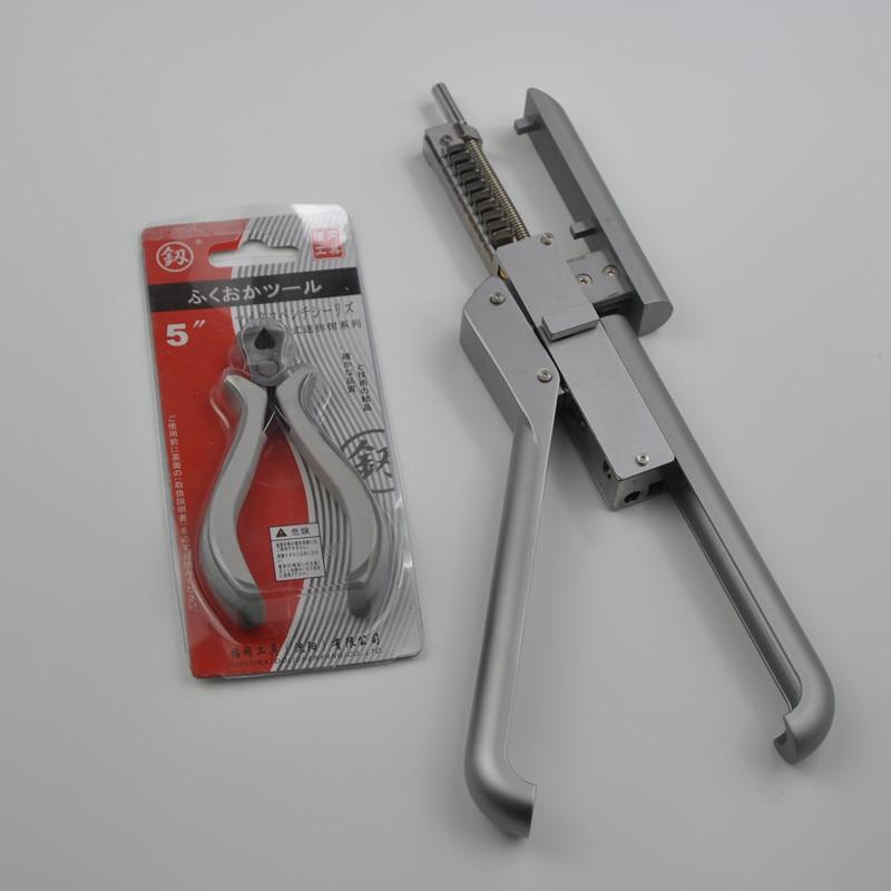 6D High End Hair Extension Machine Connector&Hair Remove Piler Hair Salon Tool Wig Connector Tool Kit Keratin Hair Extension Kit