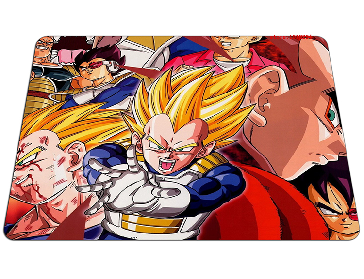 Dragon Ball mouse pad Vegeta mouse mats laptop Dragon Ball Z mouse pad gear notbook computer anime gaming mouse pad gamer