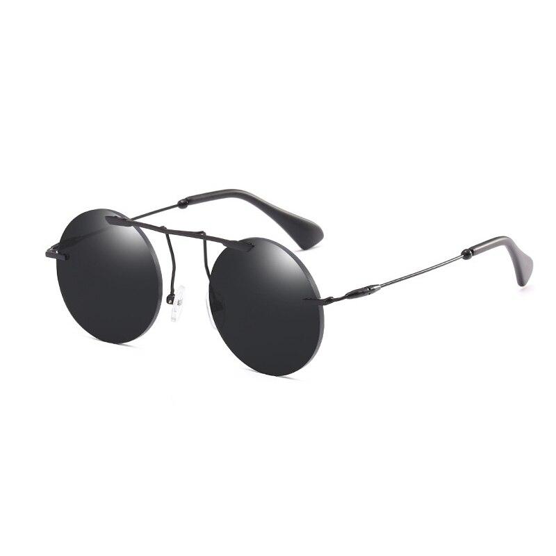 Apparel Accessories Cheap Price Round Circle Steampunk Sunglasses Men Women Vintage Retro Sunglass Brand Design Mirror Lens Luxury Quality Eyeglasses Uv400
