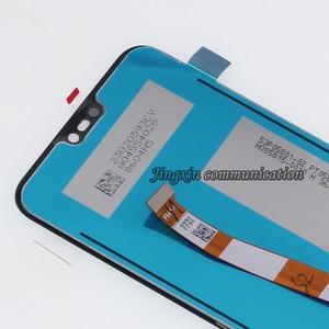 Image 5 - Pantalla original para Huawei P20 Lite, repuesto de componente LCD + Digitalizador de pantalla táctil, Nova 3E con Marco, 100%