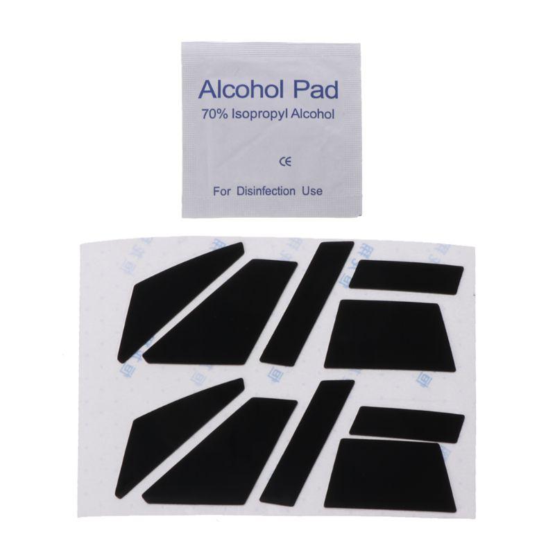 2 Stuks 0.6mm Teflon Mouse Skates Muis Sticker Pad Voor Corsair M65 Pro Rgb Muis Structurele Handicaps