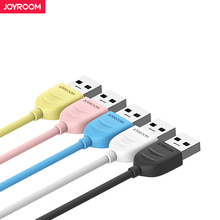 Joyroom Micro USB Cable For Xiaomi Samsung Quick Cost USB Knowledge Cable 100cm Android Micro usb Charging Cable Cellular Telephone Cables