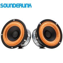 """Sounderlink ses Labs 3 """"HiFi rank tam aralıklı frekans hoparlör 3 inç 4 8 Ohm tweeter sürücü birimi orta bas seti DIY"""