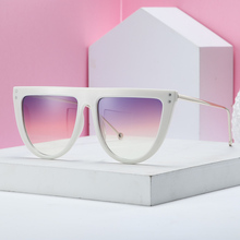 MARC Trendy Half Frame Rimless CatEye Sunglasses Women Fashion Brand Designer Sun glasses For Female Oculos de sol