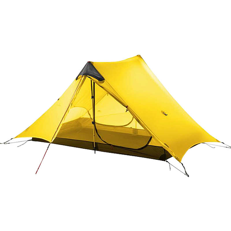 3F UL GEAR LanShan 2 namiot Oudoor Ultralight Camping 15D Silnylon 1 osoba 2 osoba namiot 3 sezon namiot zima 4 sezon namiot