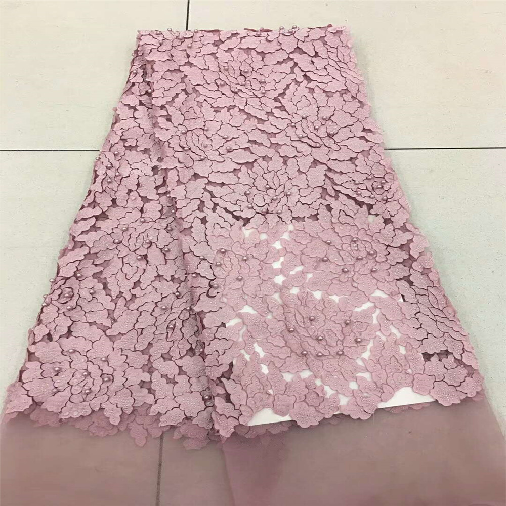 Luxury French Lace Fabric 2018 High Quality Lace Net