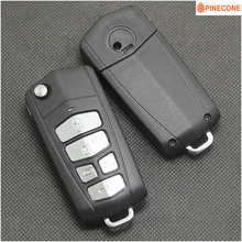 PINECONE Key Case for KIA CARNIVAL SEDONA ROYALE HYUNDAI ENTOURAGE Car Styling 5 Button Uncut Blade Modified Shell Fob
